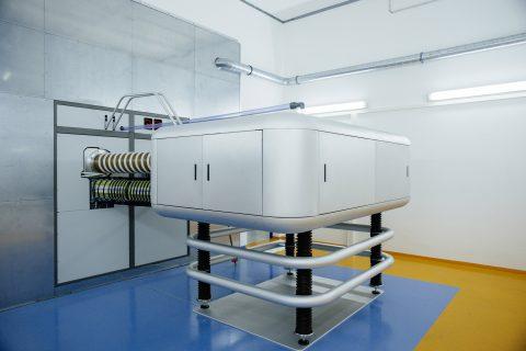 the Ion Beam Center's 500 kV ion implanter at the HZDR, Germany © HZDR/Oliver Killig