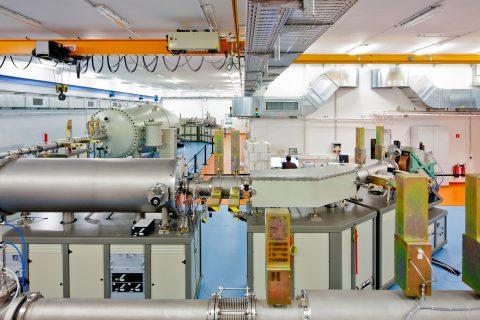 6 MV accelerator at HZDR's Ion Beam Center © HZDR/Oliver Killig