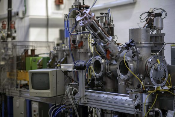CIMAP's IRRSUD Beamline for ions up to 1 MeV/u © CIMAP / CNRS