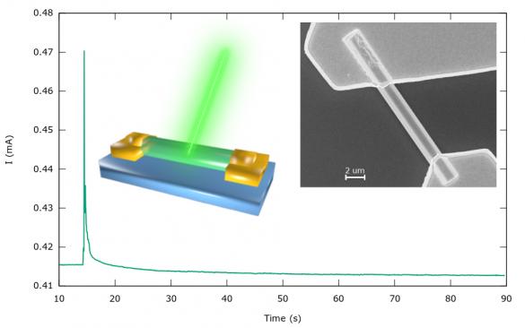 Radiation sensors based on GaN nanowires © IST / C. Rocha