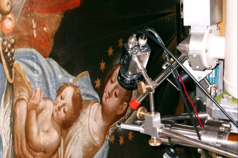 Non-destructive Ion Beam Analysis of art objects at JSI © JSI / Ziga Smit