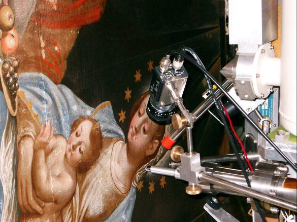 Non-destructive Ion Beam Analysis of art objects at JSI © JSI / Ziga Smit
