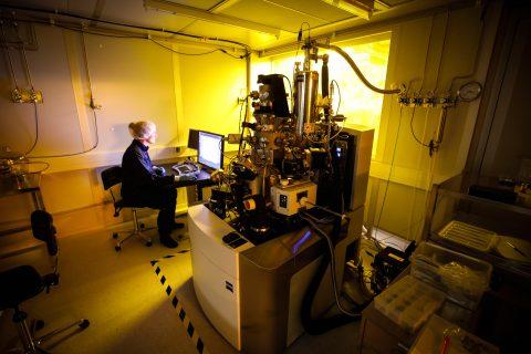 JYU Helium Ion Microscope © JYU / Petteri Kivimäki