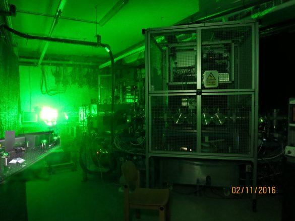 VERA's ILIAMS (Ion-Laser Interaction Mass Spectrometry) beamline © University of Vienna