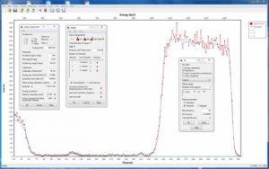 Picture of SIMNRA graphical user interface